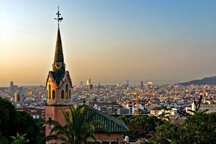 Барселона город