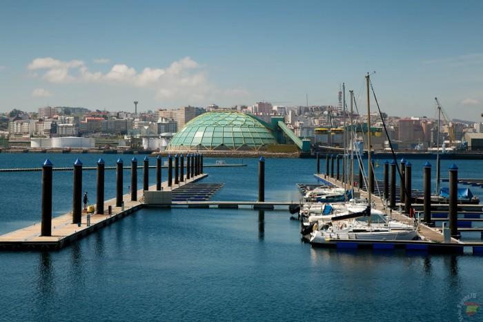 Город порт в Испании