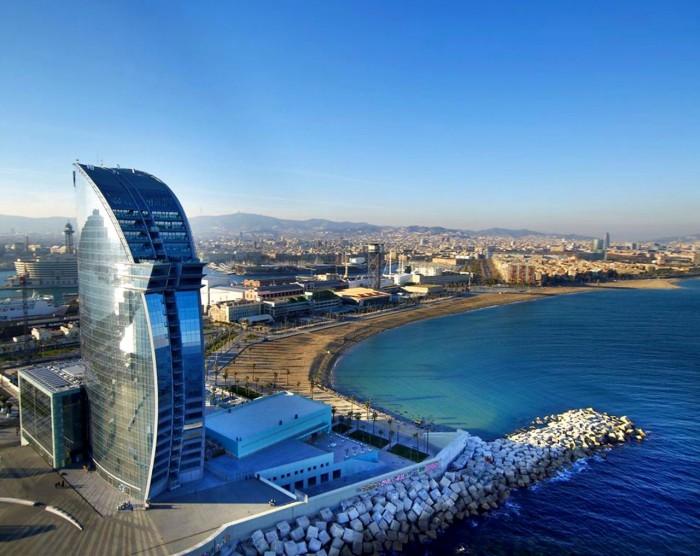 Города Испании на побережье