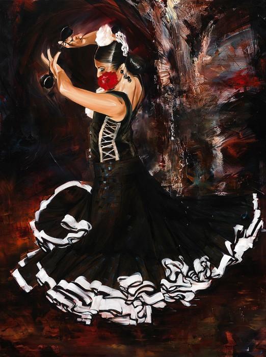 Испанка танец