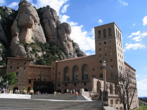 Монастырь Монтсеррат Испания