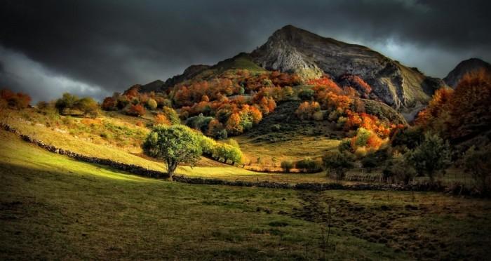 Осень в Испании