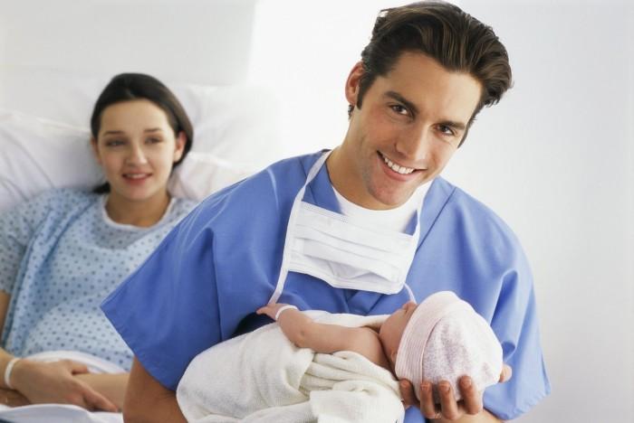 Родился ребенок в Испании