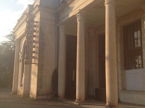Вокзал после военной разрухи